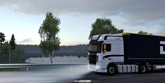 GRiPTRANS DAF XF105 w/ DSV [ETS2] (gripshotz) Tags: daf xf 105 krone profiliner grip trans romania euro truck simulator ets 2 promods