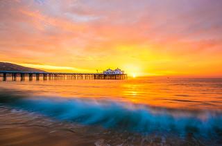 Malibu Pier Sunrise! Epic Nikon D810 HDR Landscape Seascape Photography! Dr. Elliot McGucken Fine Art Photography!  High Res 14-24mm Nikkor Wide Angle F/2.8 Lens!