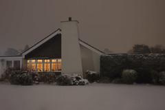 Snow #2 (Dan Parratt) Tags: night nightphoto nightphotography nightscape nightfoto snow 5dmkiii artificiallight grayshott hampshire lightpollution scene winter empty freshsnow canon canon5dmkiii