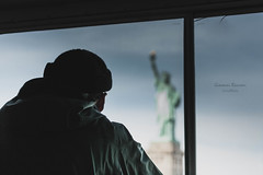 """..and then how many people you saw!""|New York|USA (Giovanni Riccioni) Tags: 2018 5d america canon canonef75300mmf456iiiusm canoneos5d eos fullframe giovanniriccioniphotography march marzo newyork states statiunitidamerica travel usa unitedstatesofamerica viaggiare viaggio statueofliberty libertyisland statuadellalibertà statuadellaliberta boat immigrazione migrants migrant happiness salvezza symbol nyc reportage ellisisland"