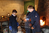IMG_7638 (proctoracademy) Tags: admissions classof2022 metalsculpture revisitday revisitday2018 visitingfamilies devinkriver