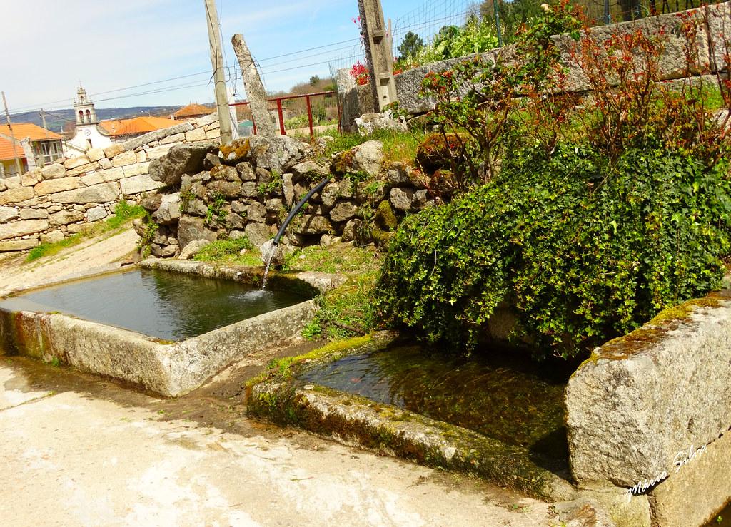 Águas Frias (Chaves) - ... os tanques em Cimo de Vila ...