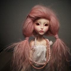 Lillycat Chibbi Lana (bunnylungs) Tags: lillycat lana chibbi bjd tiny doll