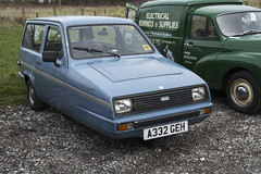 A332 GEH  1983  Reliant Rialto GLS (wheelsnwings2007/Mike) Tags: a332 geh 1983 reliant rialto gls foxfield railway car show blythe bridge staffordshire