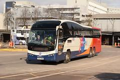 SF 54113 @ Glasgow Buchanan Street bus station (ianjpoole) Tags: stagecoach fife volvo b13rt plaxton elite sp62bnb 54113 glasgow buchanan street bus station