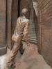 Mr Brown (Steve Taylor (Photography)) Tags: art digital sculpture steps wall brown bronze metal man uk gb england greatbritain unitedkingdom london grandterrace paulday railway stpancras station thelovers themeetingplace