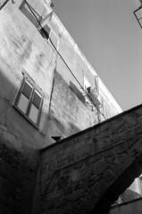 Old City Akko Acre (Ilya.Bur) Tags: old city akko acre israel nicca 3s color skopar 35mm f25 neopan acros 200 caffenolcl bw analog film monochrome homemade soup