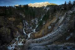 Melt (norbertfulep) Tags: austrianphotographers austria waterfall mountain melt water spring morning