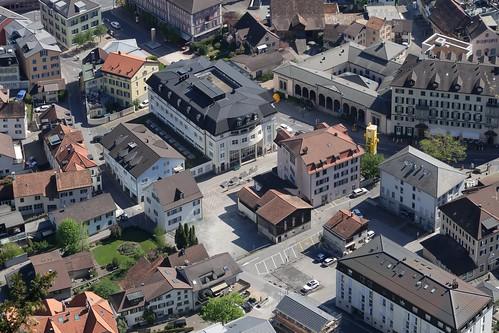 Bad Ragaz - Rathausplatz
