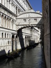 Venice here and there (DavidCooperOrton) Tags: bridgeofsighs venice canal gondola gondolier