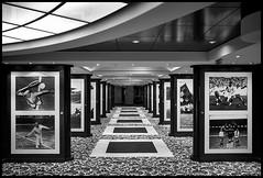 sports hall of fame (Lukas_R.) Tags: fuji xe3 samyang walimex 21mm f14 ship bw msc orchestra travel architektur