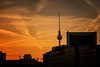 Daybreak Berlin (fehlfarben_bine) Tags: nikond800 nikon2401200mmf40 berlin cityscape sunrise alex silhouettes glow morning skyline tower fernsehturmberlin windows