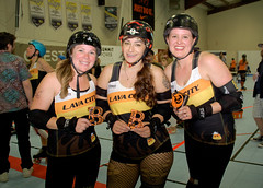 273 (Bawdy Czech) Tags: lcrd lava city roller dolls spit fires basin bombers bend or oregon april 2018 skate derby wftda flat track bout