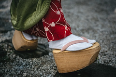 Put Your Best Foot Forward (Trent's Pics) Tags: feet geisha geta japan kimono kyoto lifestyle maiko okobo portrait sandal