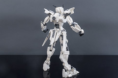 Creed of Bane -Rear View- (ChristiansCreations) Tags: lego mech mecha gunpla gundam robot battle