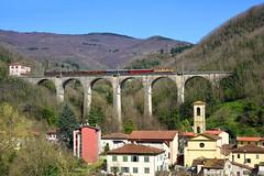 Porrettana (Paolo Brocchetti) Tags: paolobrocchetti piteccio porrettana e626 trenitalia fs nikon d810 24120 centoporte corbellini rail bahn