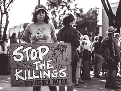 Stop the Killings (Johnny Silvercloud) Tags: freethechildren antitrump arizona civil civilrights immigrantpolicy justice latinamerican mexican people protest rally rights socialjustice sociopolitical solidarity trumpera tucson unitedstates children civic latin protestmarch protesters signs streetphotography