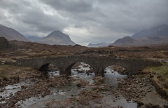 #15 Sligachan (music_man800) Tags: sligachan old bridge camping campsite skye isle cuilin black mountain cuillin mountains range ridge hill summit valley river gravel mist fog haze rain wet wind windy gale storm force scene scenery landscape stream burn moor moorlands wild remote road roadtrip holiday may 2018 scotland uk united kingdom scottish clouds cloudy canon 700d adobe lightroom creative cloud photography edit moody atmospheric mood stormy shadow contrast light natural lighting bright grey white