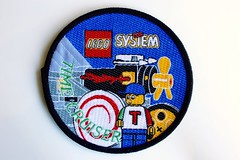 Time Cruisers woven patch (BF Bricks) Tags: lego ephemera collectible patch sew embroidered 80s 90s