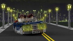 Declasse Roadlover on the highway (initial_dvache) Tags: ldd lego blender mecabricks car 6wide