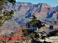 Grand Canyon DSCN9177 (Captured In Glass) Tags: wallart fineart nature digital photography décor homedécor gift den livingroom outdoors grandcanyon arizona orange brown blue sky canyons beautiful natural wintertime winter burntorange canyon mountain