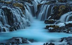 Soul Seeking (carolina_sky) Tags: bruarfoss waterfalls turquoise river stream rocks longexposure le blue ice iceland pentaxk1 pentax70200 skymatthewsphotography