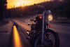 The ride (Johnidis) Tags: ride motorcycle motorbike sunset bike road empty free johnidis giannis kritikos nikon d700