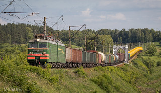 ВЛ11-406, перегон Богатищево-Пурлово, Московская область