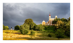 Greenwich Observatory (GDWilson1000) Tags: greenwich observatory storm clouds sunset london