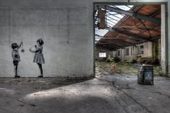 Am seidenen Faden... (JOP-76) Tags: earth urban exploration abandoned verlassen kaputt urbex lost halle fabrik