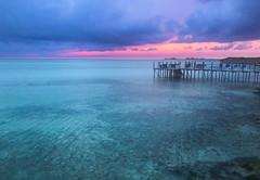 cuba sunset (Markgill21) Tags: iphone 7 7plus cuba sunset iberostar jetty aqua caribbean purple