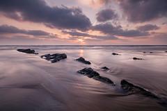 Dancing in the Devils Shoes (johnkaysleftleg) Tags: sunrise hauxley beach rocks northumberlandcoast northeast england seascape ndhardgrad06 canon760d sigma1020mmf456exdchsm
