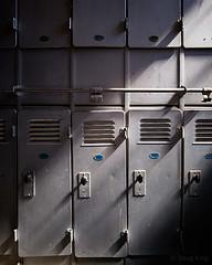 Laid Off Forever (Doug.King) Tags: pwllmawr bigpit nationalcoalmuseum blaenavon wales coal mine miner mining vintage old retro locker lockers