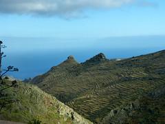 A Sombrero- és a Magro-szikla (ossian71) Tags: spanyolország spain kanáriszigetek canaryislands gomera lagomera tájkép landscape természet nature hegy mountain szikla rock