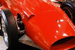 Maserati 250F Formula 1 Racing Car, 1957 (mkk707) Tags: film analog wwwmeinfilmlabde zeissikoncontaxiia zeissikonstyle zeissoptonsonnar12f50mm 35mmfilm kodakportra400 red vintagecar vintagefilmcamera vintagelens italiancars