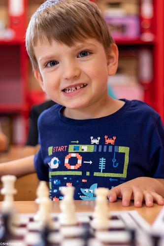 VIII Turniej Szachowy o Mistrzostwo Przedszkola Europejska Akademia Dziecka-19