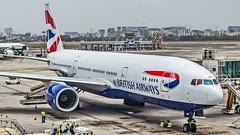 British Airways Boeing B777-200(ER) G-YMMN Mumbai (VABB/BOM) (Aiel) Tags: britishairways boeing b777 b777200er gymmn mumbai canon60d canon24105f4lis