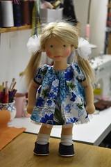 """GERTRUDE 18"""" NATURALFIBERDOL (Dearlittledoll) Tags: waldorf waldorfdoll18inch dollmaker fiberart fiberartdoll geschenke naturaldoll naturalfiberdoll madewithmyownhands makingdoll"""