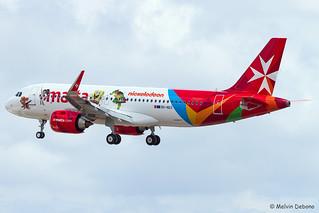 Air Malta Airbus A320-251N |  9H-NEO  |  LMML