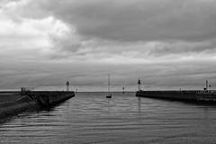 Vers le large (David Bertholle) Tags: port mer sea blackwhite noiretblanc normandie boat schwarzweiss nikon d7200