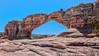 Backside of Broken Arch (Alaskan Dude) Tags: travel unitedstates utah moab arches archesnationalpark nationalparks landscape scenery navajosandstone hdr 5photosaday