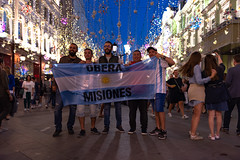 Fans on Nikolskaya (gubanov77) Tags: worldcup fifa worldcuprussia moscow russia city cityscape life moscowphotography nightlife nikolskayastreet argentina outdoor street streetscape tourism travelphotography urban чемпионатмирапофутболу 2018fifaworldcuprussia flags argentineanflag argentinefans football footballfans sport fans
