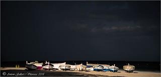 Una llum dins de la tempesta. (Torredembarra - Catalunya).