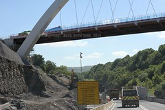 gilwern to brynmawr a465 heads of the valleys road dualling june 2018 f (Dskies) Tags: road building construction major works tarmac bridges wlaes wales june sunny