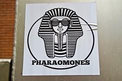 Pharaomones, St. Paul, MN (Robby Virus) Tags: stpaul minnesota mn saint paul pharaomones sticker slap band music hip hop rap