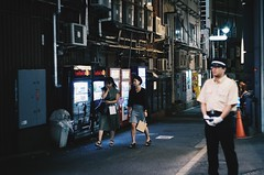 back alley tokyo  street (31lucass shots) Tags: sonya7 helios58mmf2 sonycamera snapshots sonyimages streetsnap streetview primelens helios44m japan tokyo japantokyo shibuya japanese japanstreet tokyocity nightview cityscape tokyonight japanimages travel