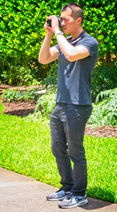 Man in  Black Jeans (LarryJay99 ) Tags: washedashore mountsbotanicalgardens litter trash refuse plastics art arts artcraft guys dudes males people man men guy dude male studly manly handsome hunk stud gaze masculine sexyman asian