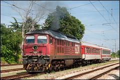 07126, Topolite (BG), 18/06/18 (bontybermo402) Tags: overnight locomotive railway topolite бдж dobrich varna 07126 ludmilla bdz