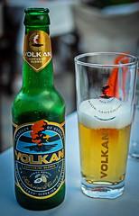 A Volkan Blonde (From Santorini with a hint of Honey) 5% ( Anna's Restaurant - Skopelos Town)  Greece) (Olympus OM-D EM1-Mk2 & M.Zuiko 25mm f1.8 Prime) (1 of 1) (markdbaynham) Tags: greece greek hellas hellenic skopelos gr beer hellenicbeer greekbeer olympus omd olympusomd em1 em1ii em1mk2 csc mirrorless microfourthird microfourthirds m43 m43rd micro43rd mzd mz zd mzuiko 25mm prime f18 volkan volkanblonde santorinibeer