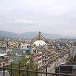 Blick auf Kathmandu, Nepal